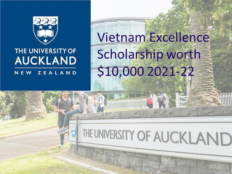 Vietnam Excellence Scholarship worth $10,000 2021-22