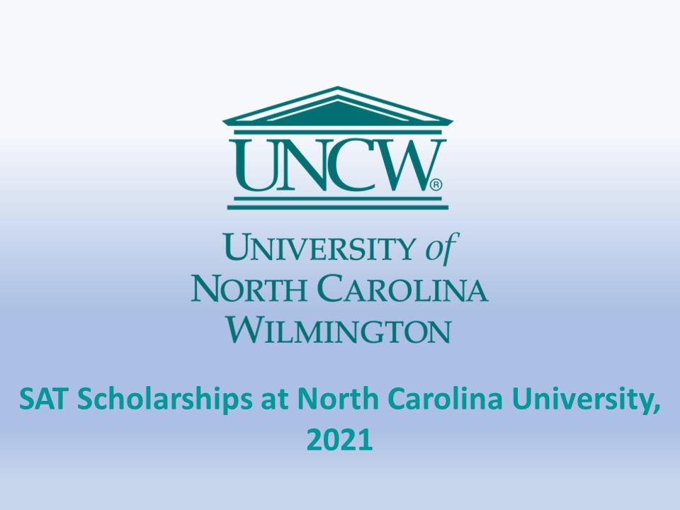 SAT Scholarships at North Carolina University